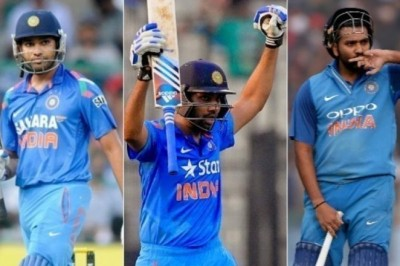 Which one is the best Rohit Sharma Double Century?