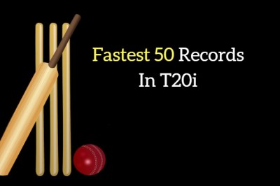 Fastest 50s in T20Is